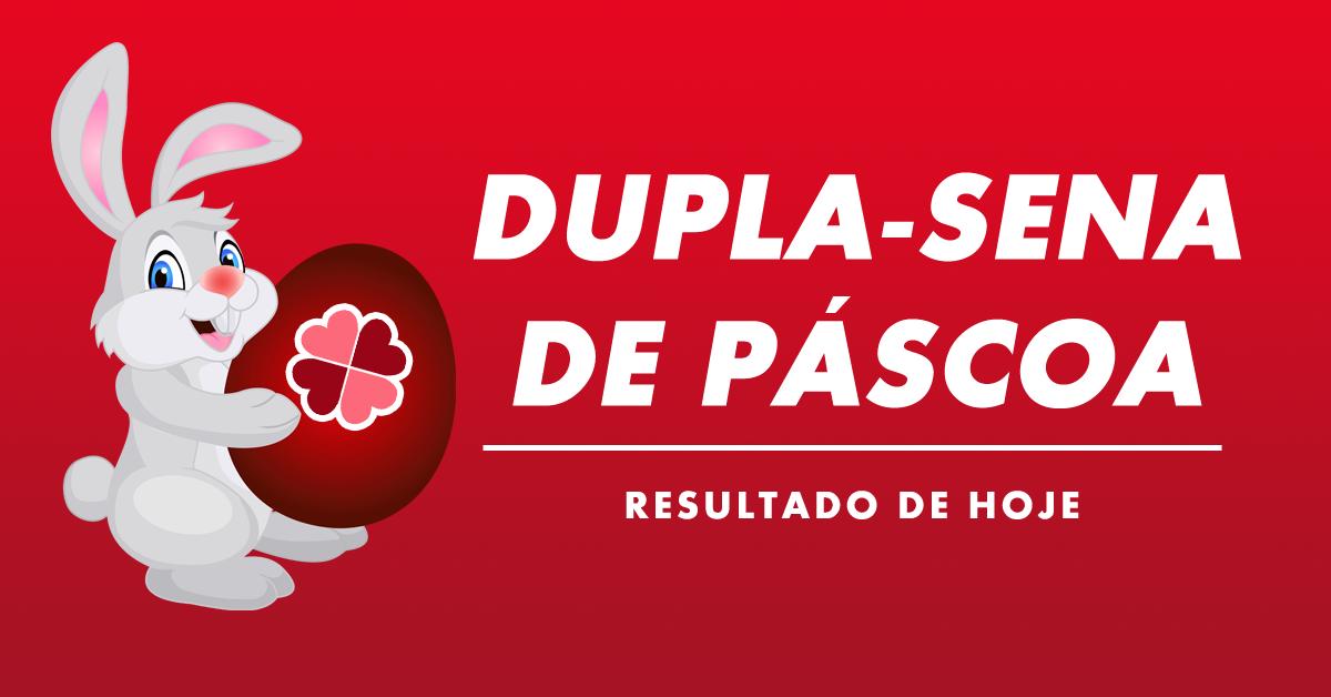 Resultado da Dupla-Sena de Páscoa 2020 deste sábado Concurso 2070
