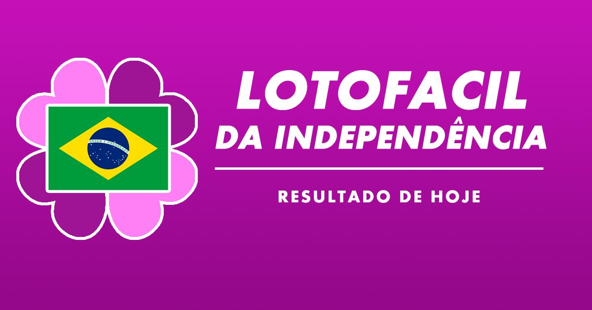 Resultado Lotofácil da Independência Concurso 1861 desta sexta (2019)