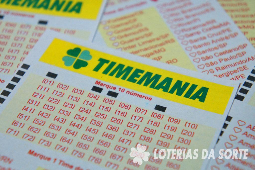 Timemania concurso 1700
