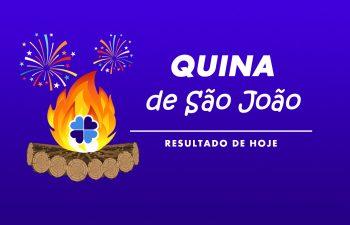 Resultado da Quina de São João Concurso 5590 – sábado (26/06/2021)