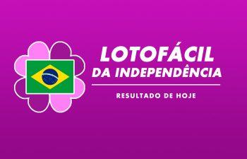 Resultado da Lotofácil da Independência Concurso 2030 – sábado (12/09/2020)