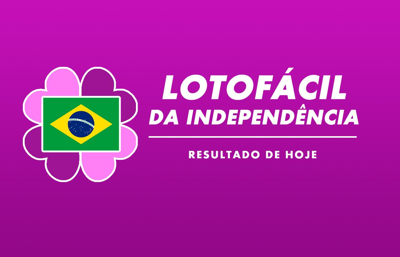 Resultado da Lotofácil da Independência